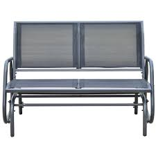 outsunny picture on appealing metal garden furniture seater bench