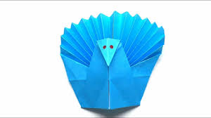 origami tutorial how to fold origam turkey for thanksgiving