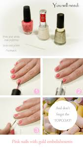 5 diy nail art using household items nail art at home glamrs