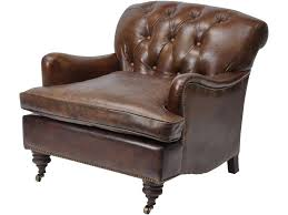 Distressed Leather Armchairs Distressed Brown Leather Armchair Aged Tobacco Brown Leather