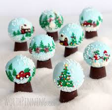 worth pinning snow globe oreo cookie balls