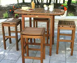 Bar Patio Table Outdoor Bar Height Table Juniorderby Me