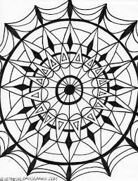 kaleidoscope coloring pages printable kaleidoscope patterns