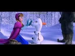 frozen 2013 scene meeting olaf clip