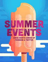 church summer events flyer template flyer templates