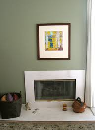 sage green walls with pops of color interior decorating ideas