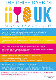 shabbat uk the central the central synagogue london