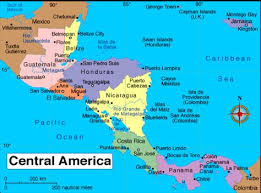 map central mexico central america outline map labeled printable mexico map 15