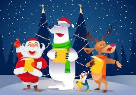 christmas carolers christmas carolers vector free vector stock