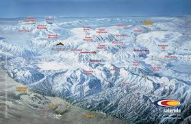 Breckenridge Ski Map List Of Colorado Ski Resorts Near Springs