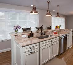 Kitchen Island With Sink And Dishwasher And Seating Two Tier Island With Sink And Dishwasher Would Prefer The Second
