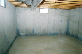 new ideas unfinished basement walls basement wall finishing system