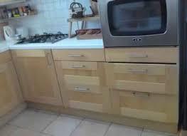 meuble de cuisine en bois pas cher meuble cuisine bois ikea cuisine en image