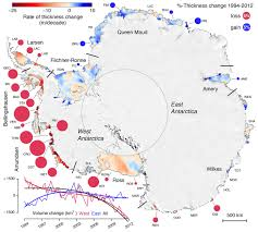 Map Of Antarctica Shrinking Of Antarctic Ice Shelves Is Accelerating Iflscience