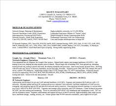 network engineer resume network engineer resume template 9 free word excel pdf psd
