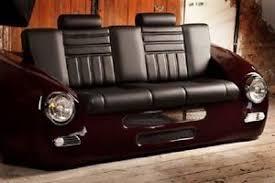 canapé voiture rétro classique voiture divan porsche 356 style cool canapé siège