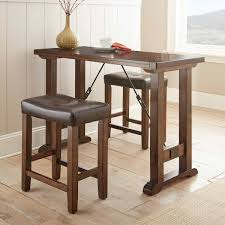 Counter Height Sofa Table by Liza 3 Piece Counter Height Pub Table Set