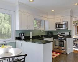 paint color kitchen white cabinets stainless appliances shiny