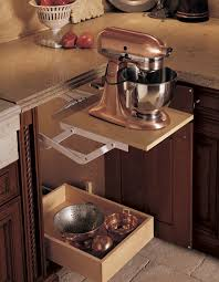 Kitchen Cabinet Lift Pop Up Cabinet So You Can Hide The Mixer Yet Don T To Move It