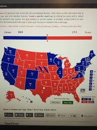 My 2016 Presidential Election Electoral Map Prediction by My Prediction Album On Imgur