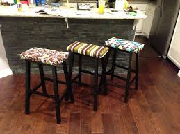 Bar Stool Cushion Inspirations Interesting Bar Stool 2017 With Braided Chair Pads