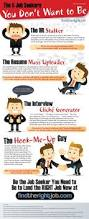 Jobs Hiring Without Resume by The 5 Job Seekers You Don U0027t Want To Become Infographic Career