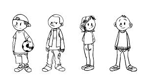 129 dessins de coloriage Personnage à imprimer