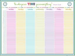 family weekly calendar template templatezet