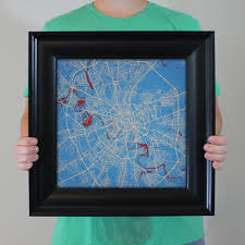 Moscow Russia Map Moscow Russia Map Art City Prints