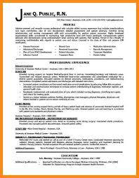 Sample Staff Nurse Resume 12 Sample Rn Resume Azzurra Castle Grenada