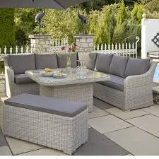 Kettler Garden Furniture Kettler Madrid Casual Dining Corner Set