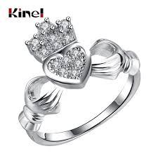 heart fashion rings images Buy kinel clah duh claddagh rings for women love jpg