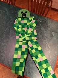 creeper costume one creeper costume i modified his a from a creeper