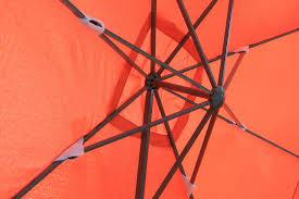 10 Ft Patio Umbrella by Kontiki Shade U0026 Cooling Offset Patio Umbrellas 10 Ft Square Offset