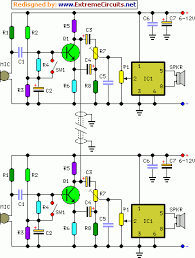full duplex intercom circuit diagram proyectos a intentar