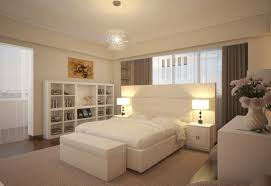 warm paint ideas for a small bedroom with unique hanging lights