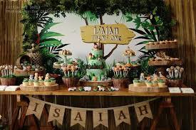 jungle theme birthday party kara s party ideas jungle themed birthday party kara s party ideas