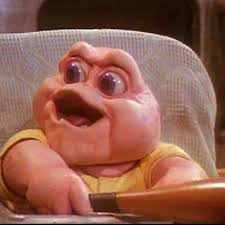 Baby Sinclair Meme - baby sinclair blank template imgflip