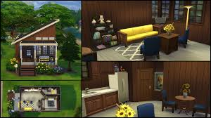 Tiny House Cartoon The Sims 4 Gallery Spotlight Simsvip
