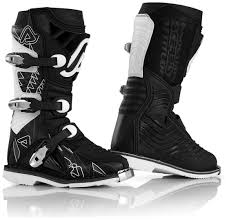 black motocross boots acerbis shark junior motocross boots offroad black white acerbis
