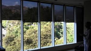 q motion motorized roller shades by 3 day blinds youtube