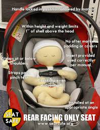 car seat safety infant seat guide rear facing pinterest car