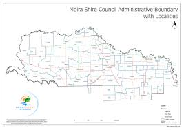 The Shire Map Moira Shire Council Towns U0026 Maps