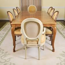 french provincial chairs 2pc french provincial polyester dining