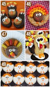 50 thanksgiving food ideas turkey treats thanksgiving