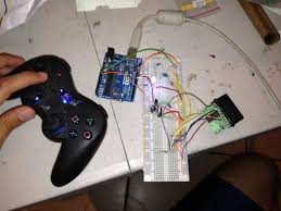 Instructables Control Anything With Ps2 Controller And Arduino Wirelessly 6 Steps