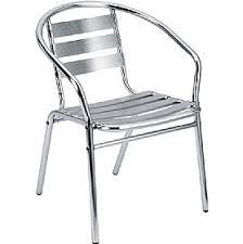 Aluminium Bistro Chairs Crowne Aluminium Bistro Chair Aluminium Bistro Chairs