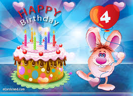 free ecard birthday ecards with tag happy 4th birthday cards