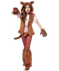 howl o ween werewolf girls costume girls costume