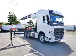 volvo tractor 44 tonne volvo fh 540 tractor unit with cormach crane truck for